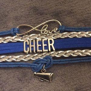Jewelry - Pretty bracelet for a cheerleader